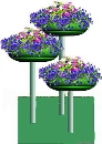 Цветочница Водопад-1