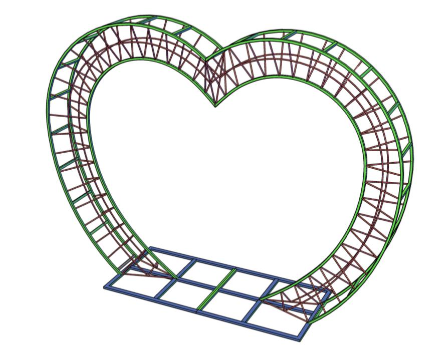 Арка Сердце-3