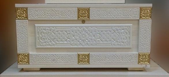Сундук деревянный Алтан Сагаан Дангина