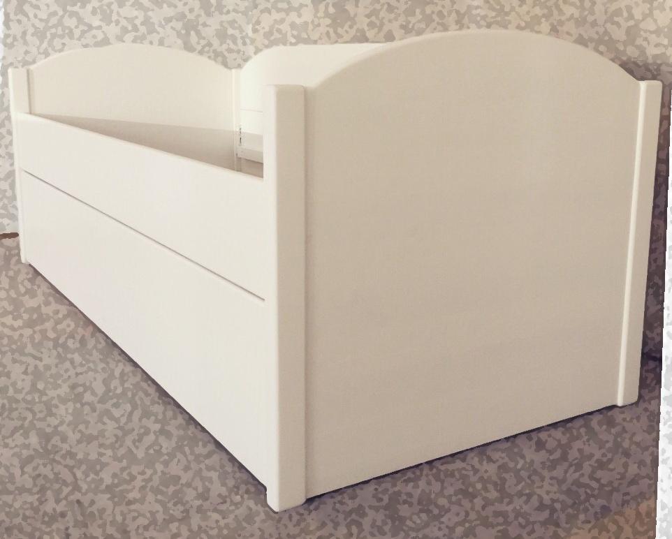 Кровать из массива дерева двойная выдвижная Сагаан 800х2000х500