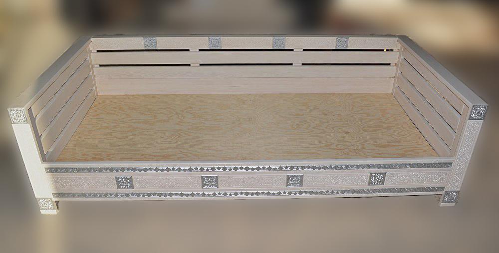 Кровать Сагаан Дангина 900х2000х600