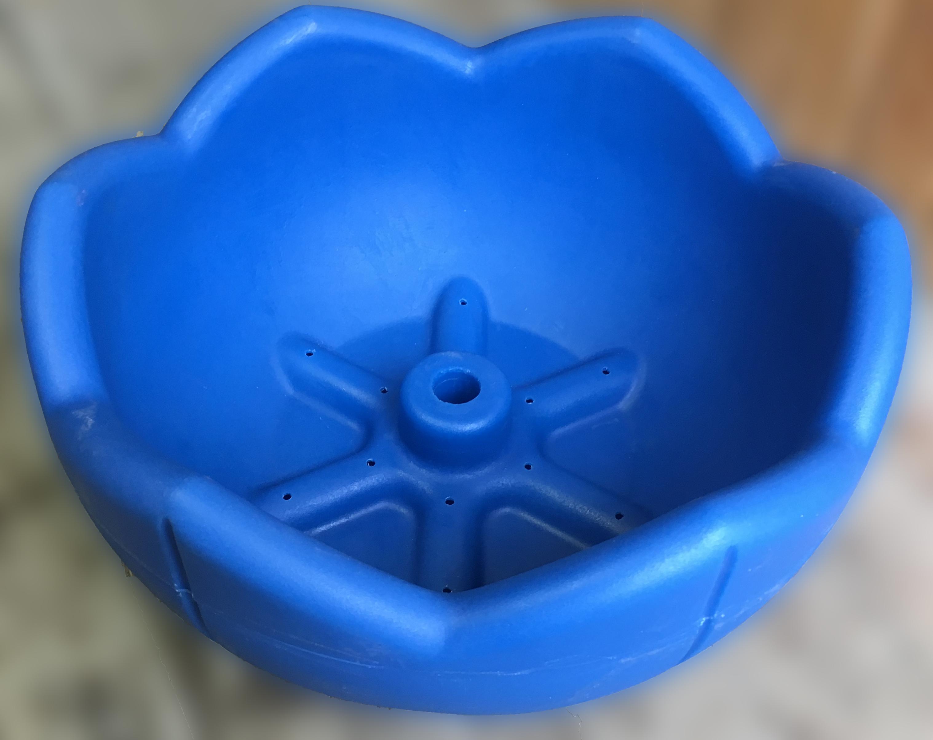 Вазон для цветов, термо-чаша 500, цвет синий