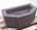 Цветочница бетонная Бордо