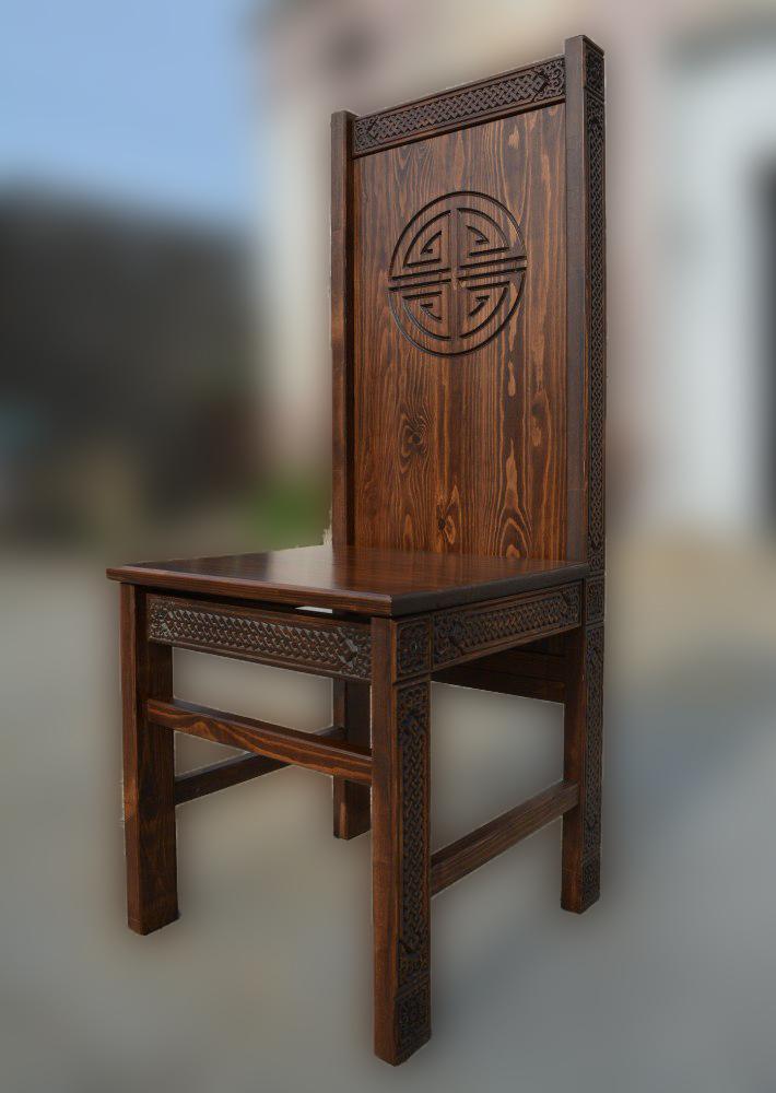 Стул деревянный Ундэр Дангина