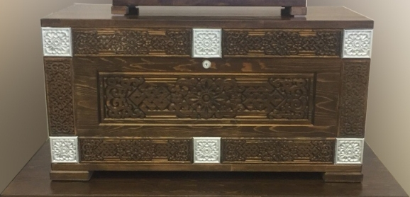Сундук деревянный Мунгэн Дангина
