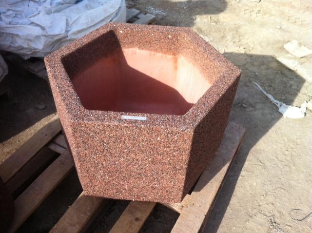Цветочница бетонная Доминик