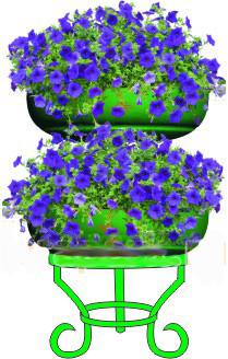 Цветочница Колонна-2
