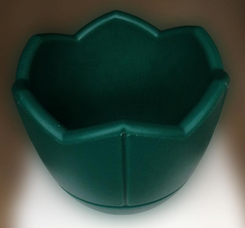 Вазон Квадро, Термо-чаша 300, цвет зеленый