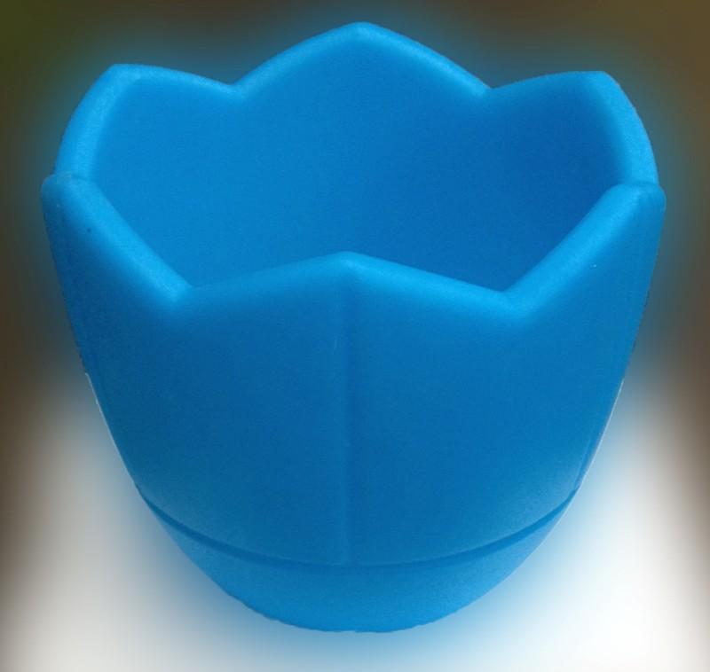 Вазон Квадро, Термо-чаша 300, цвет голубой