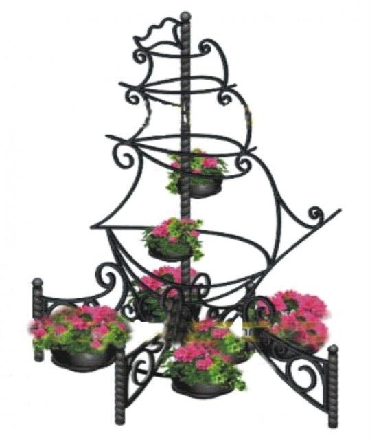 Цветочница Корабль