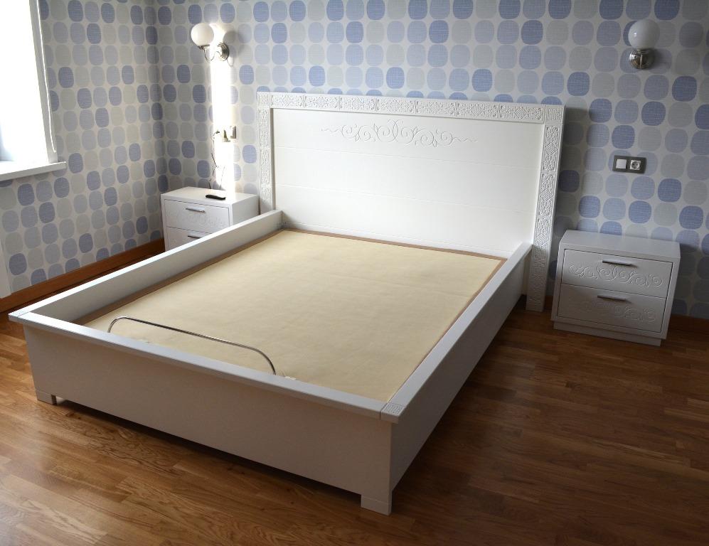 Спальный гарнитур из массива Жаргалма 1600х2000