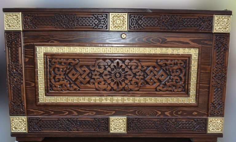 Сундук напольный деревянный Дангина