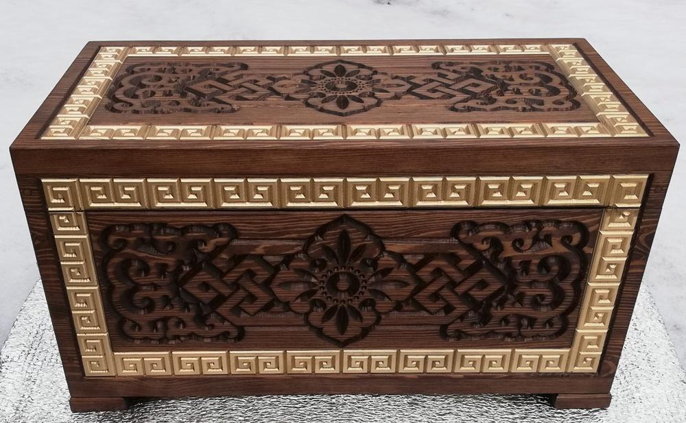 Шкатулка деревянная Дангина