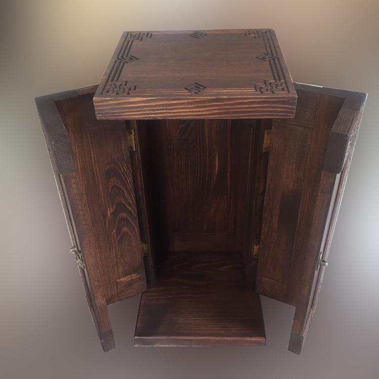 Деревянная шкатулка-футляр