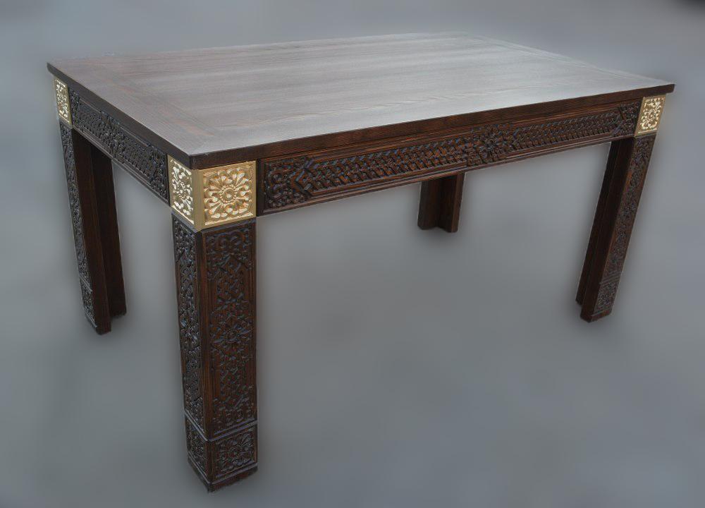 Стол деревянный журнальный Дангина
