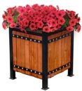 Тумба деревянная для цветов