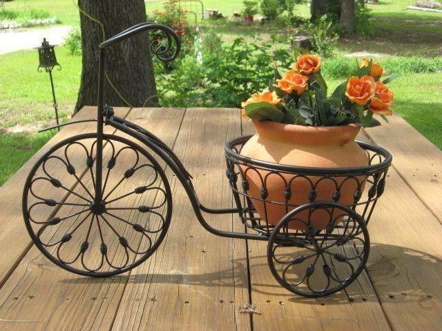 Цветочница Велосипед Ажурный