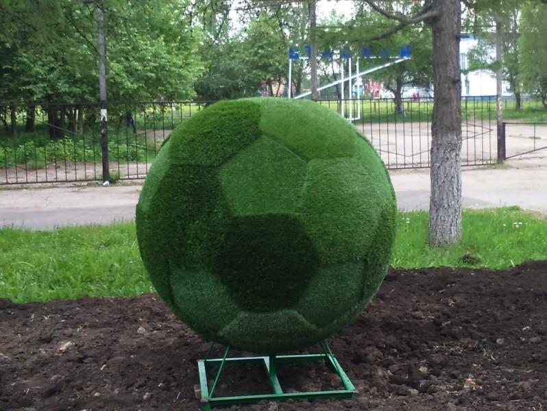 Топиарная фигура Футбольный мяч