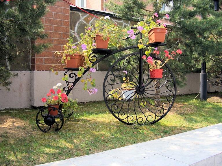 Цветочница Велосипед Гигант