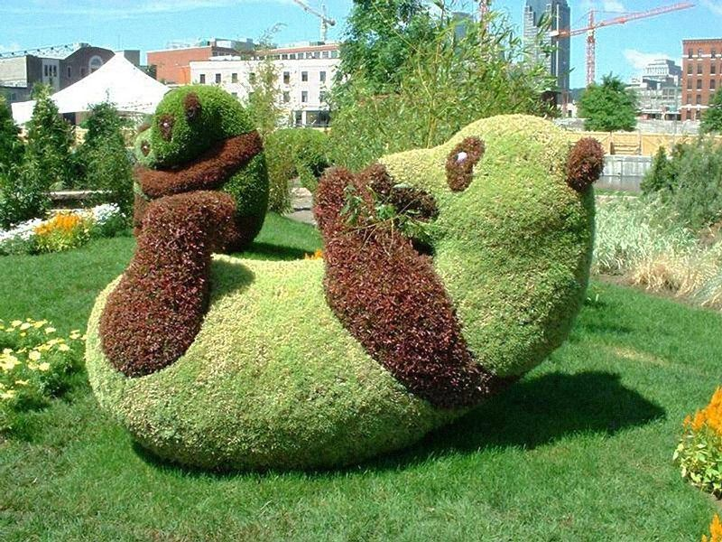 Топиарная фигура Панда