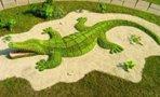 Топиарная фигура Крокодил