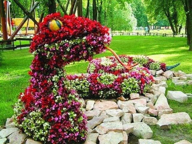 Топиарная фигура Змея